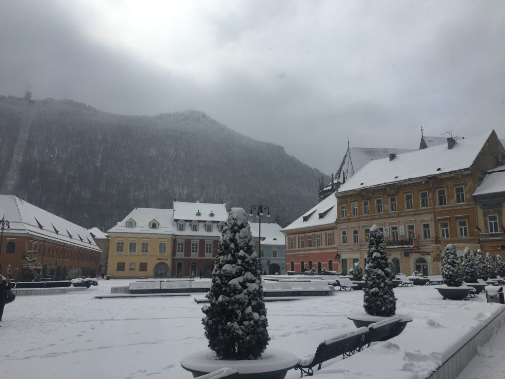 fairytale town Brasov
