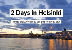 2 days in Helsinki itinerary and travel blog