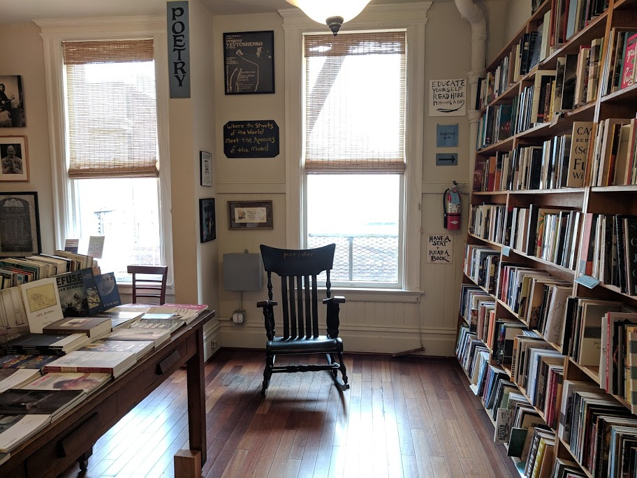 City Lights Bookstore Poetry Room Alcatraz Island 48 hours in san francisco itinerary