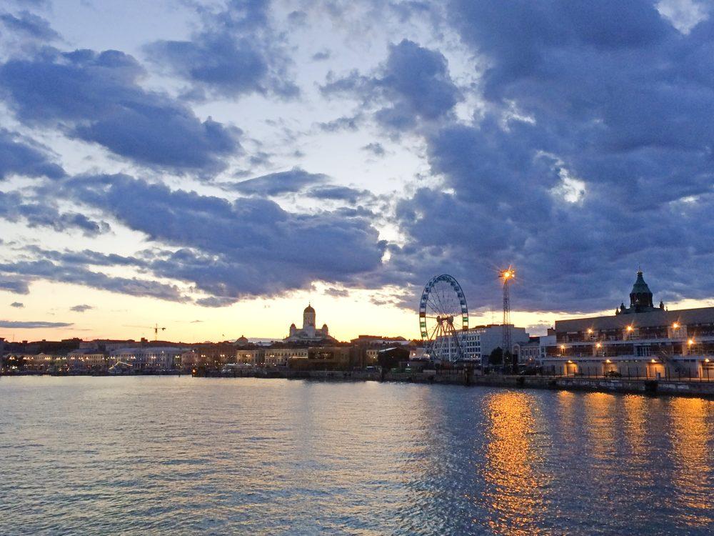 Helsinki Skywheel from sea 36 hours in helsinki