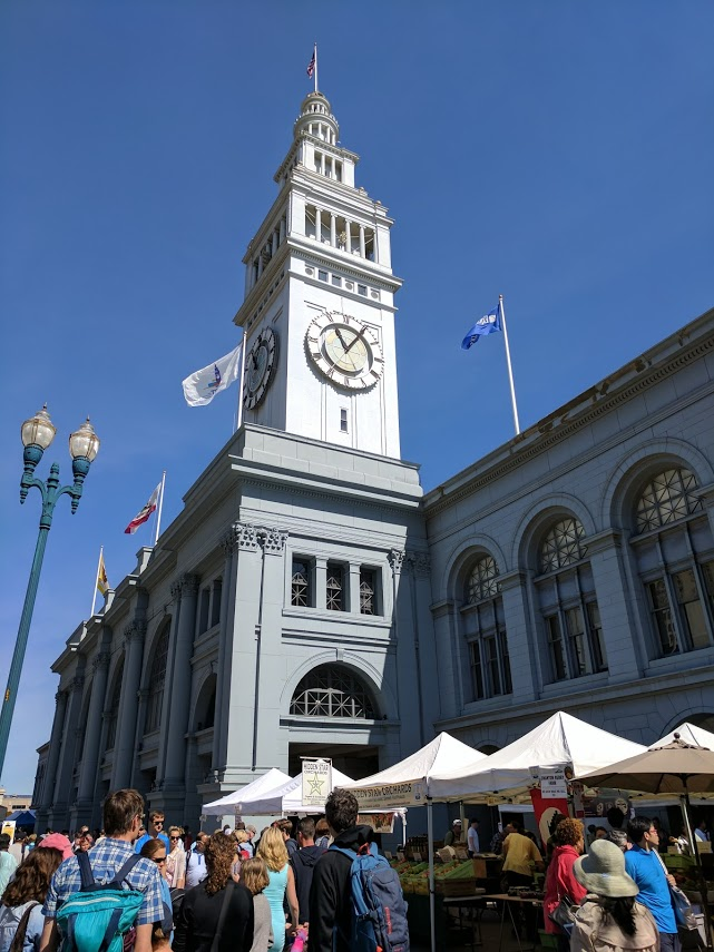 SF Ferry Building must see