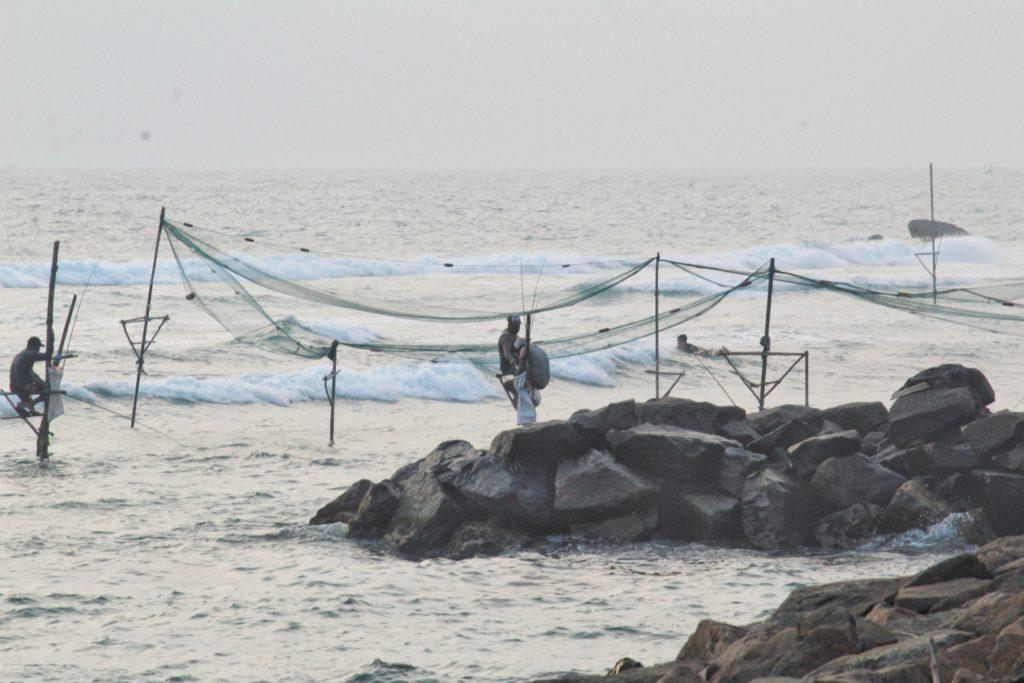 Stilt Fishing at Ahangama Beach What to do in Mirissa