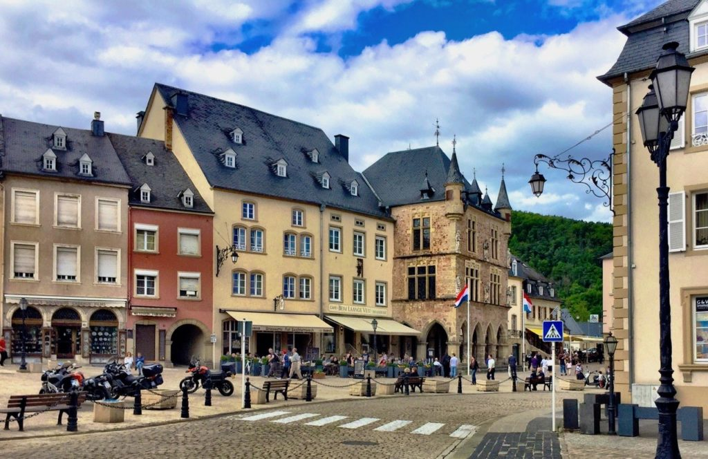 Echternach is a fairytale town in Luxembourg
