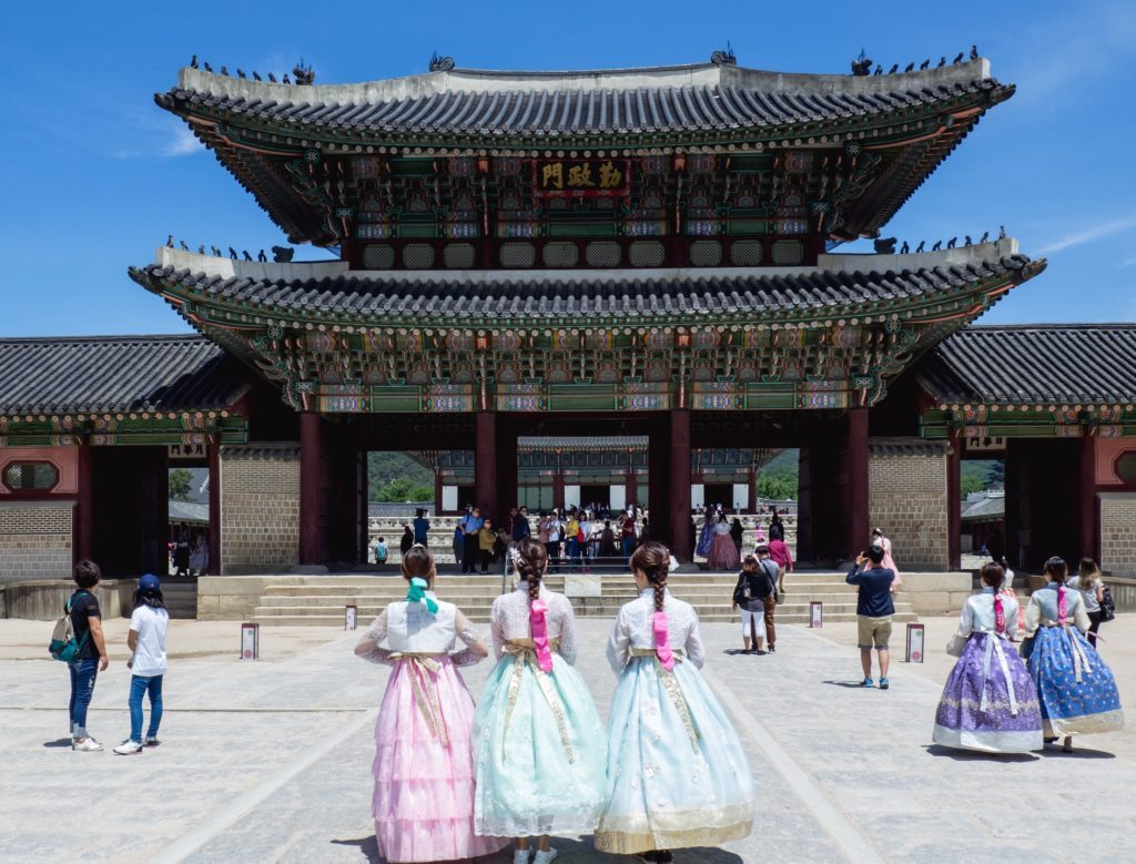 Gyeongbokgung is a must on any 2 days in seoul itinerary