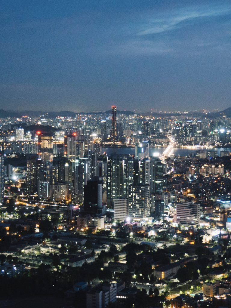 Night-view-from-Namsan-Tower-seoul-travel-blogs