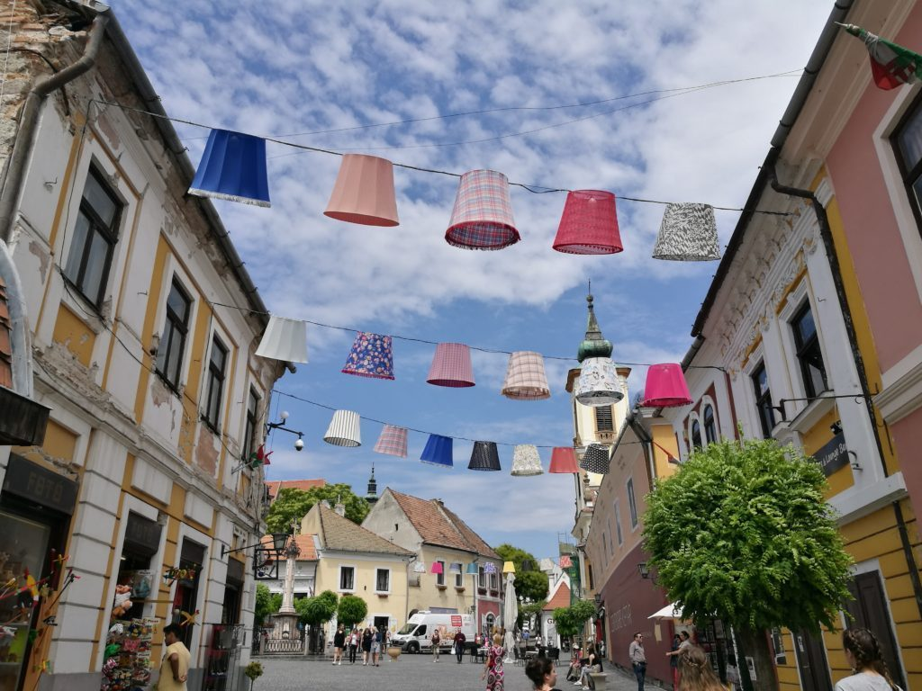 Szentendre charming little Hungarian town