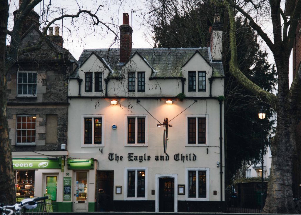 The Eagle and Child Oxford travel blog