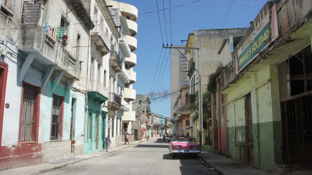 How to travel to Cuba on a budget  Typical neighbourhood in Havana