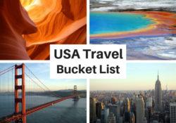 USA Travel Bucket List