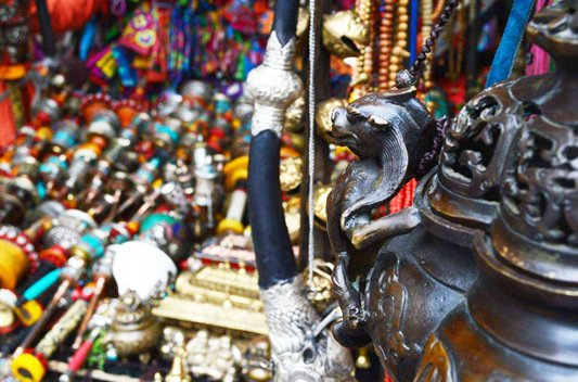 Barkhor Street The Most Famous Bazaar in Lhasa City