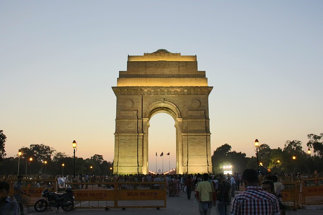 India Gate 36 hours in New Delhi