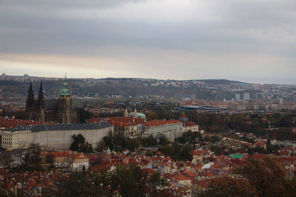 Prague Travel Blogs Petrin Tower View