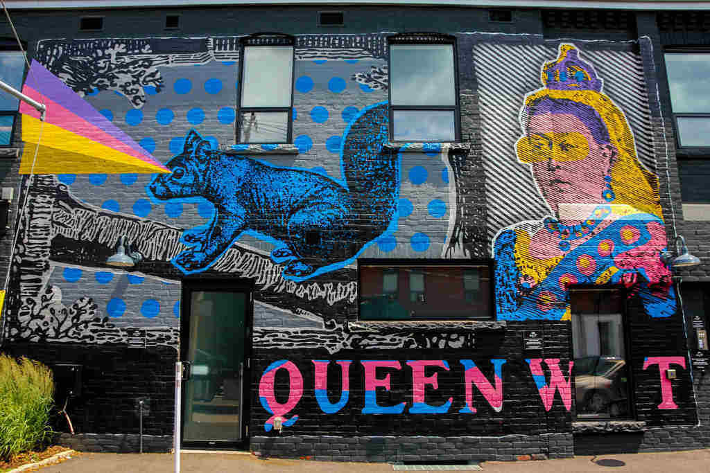 36 to 48 hours in Toronto Queen Street West Mural