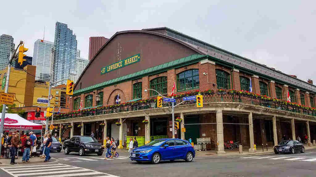 St Lawrence Market is a must on any 2 or 3 days in Toronto Itinerary