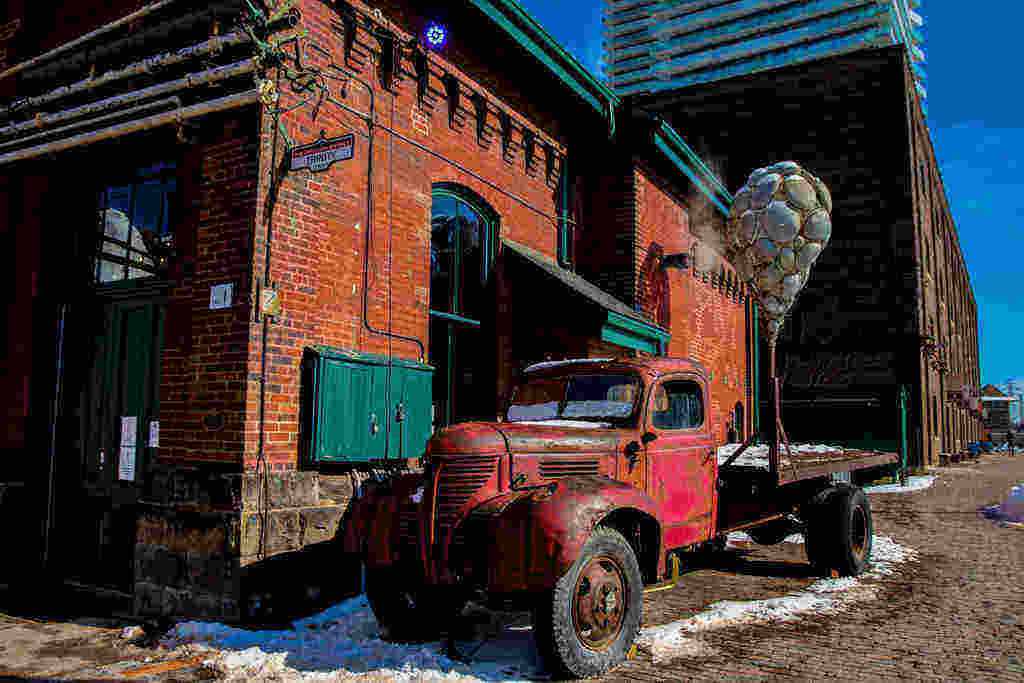 Toronto travel blog Distillery District