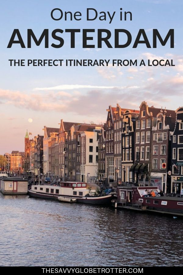 The perfect one day in Amsterdam itinerary from a local. Includes best things to see and do, where to eat and tips for first timers. *****************Amsterdam Things To Do In 24 hours | Amsterdam Travel Guide The Netherlands | Amsterdam Travel Places Vacations| Amsterdam Must See City Guides Destinations| Amsterdam Itinerary Trips | Amsterdam Netherlands Holland Bucket Lists | #amsterdam #amsterdamtravel #amsterdamtravelguide #onedayinamsterdam #amsterdamthingstodoin #visitAmsterdam