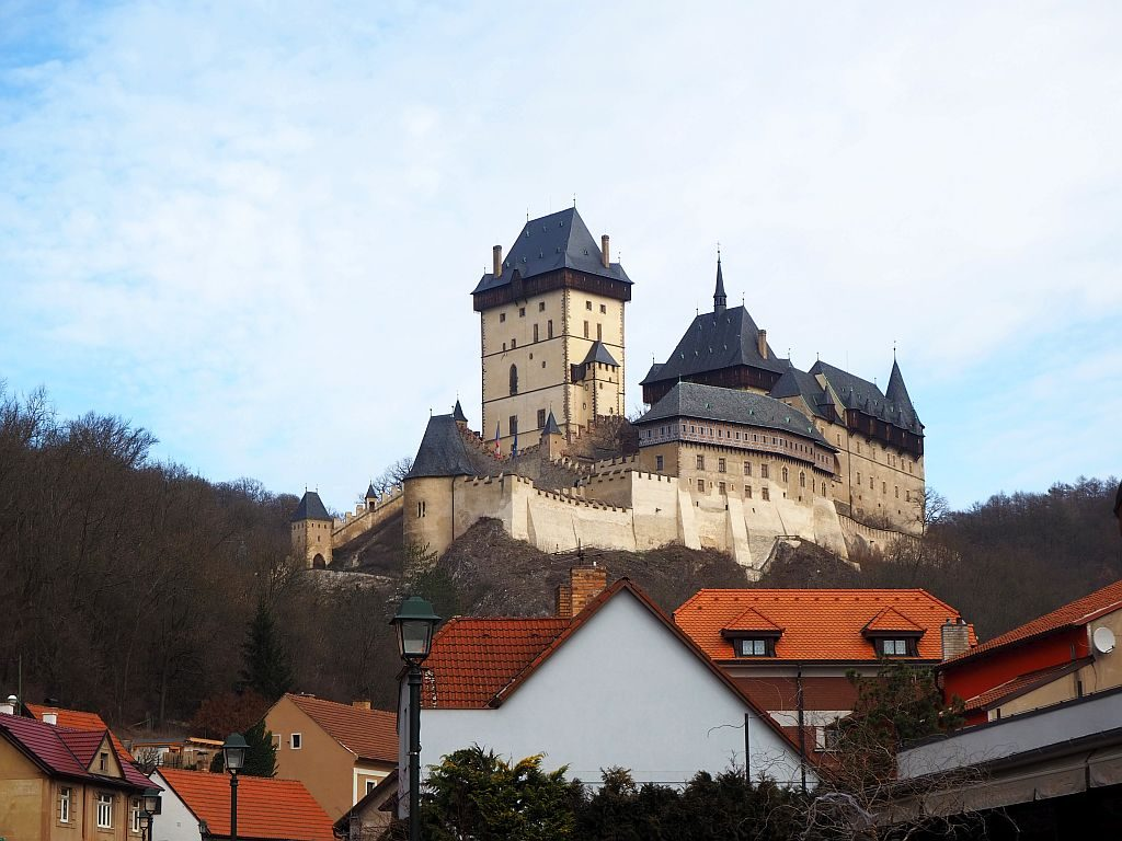 Karlstejn Castle, one of best day tours from Prague