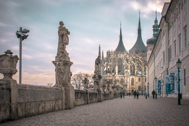 Saint Barbara Church in Kutna Hora - Top 10 day trips from Prague