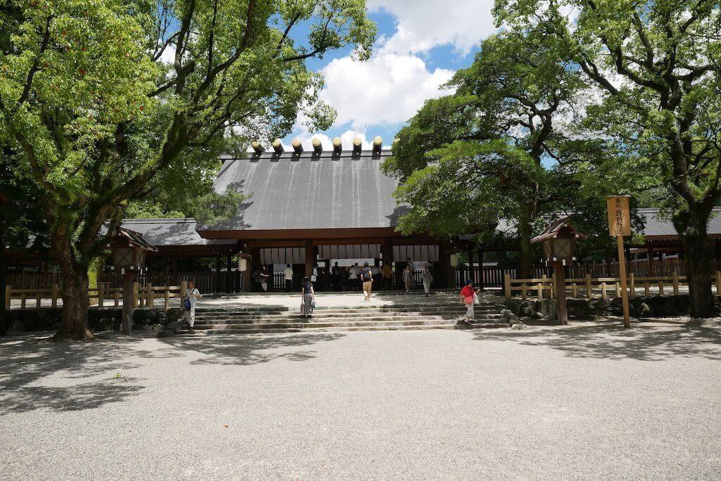 Atsuta Jingu Main Shrine in Nagoya