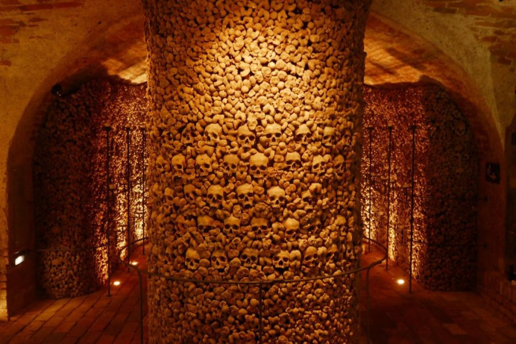 St. James Ossuary in Brno