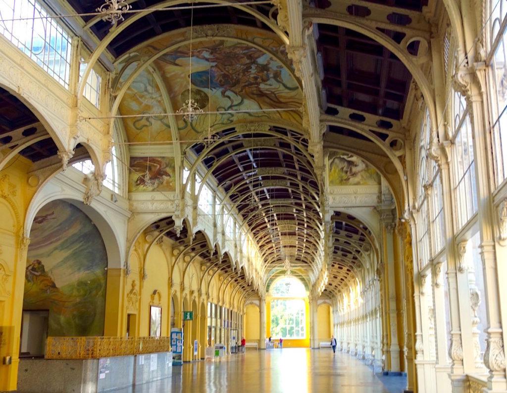 Colonnade Marianske Lazne