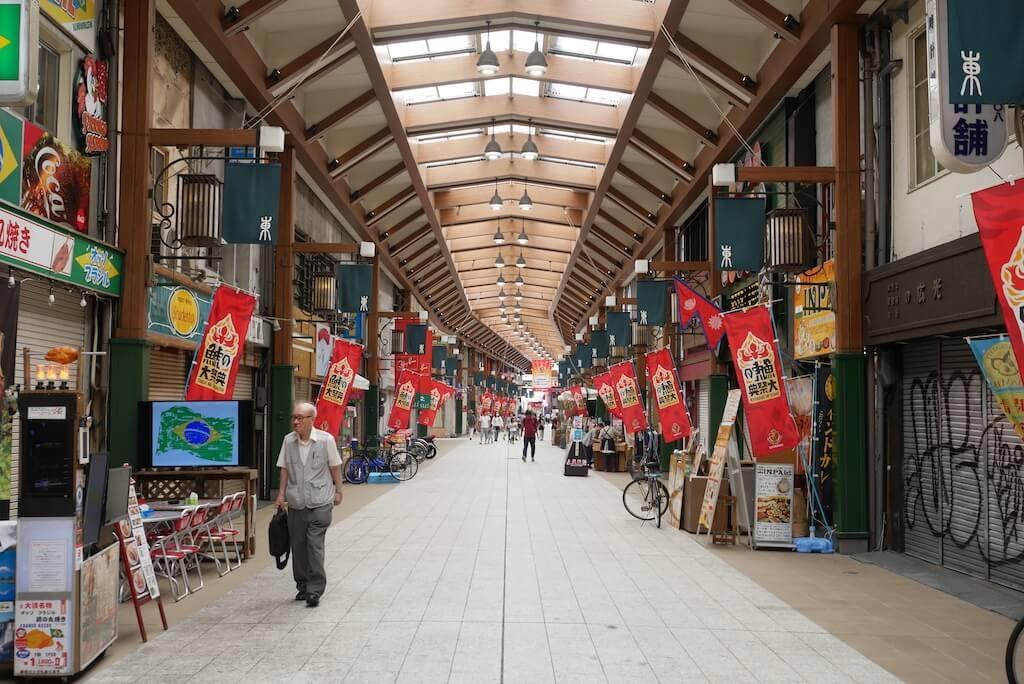 Osu Shopping Arcade in Nagoya day tour trip itinerary