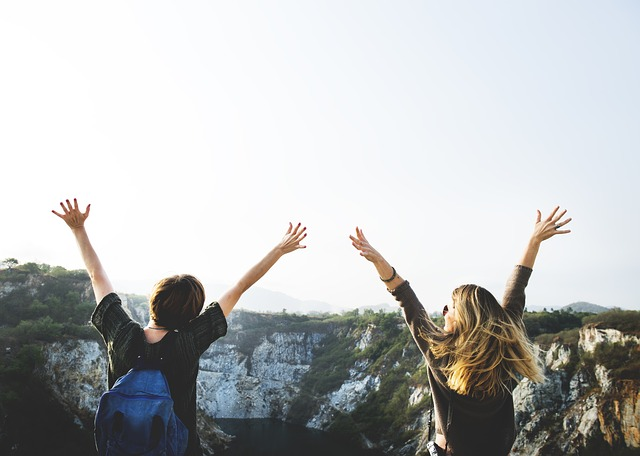 friends on adventure