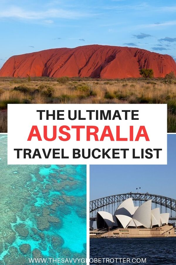 Best Places to Visit in Australia Travel Bucket List