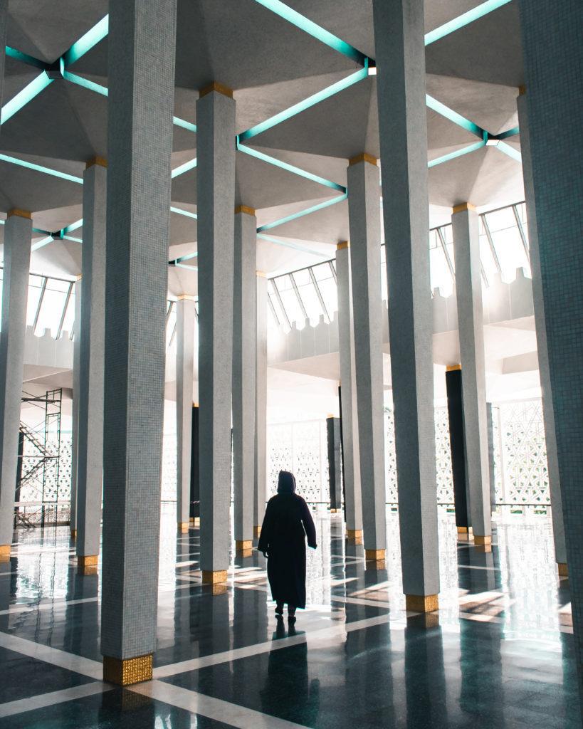 The National Mosque of Malaysia in Kuala Lumpur