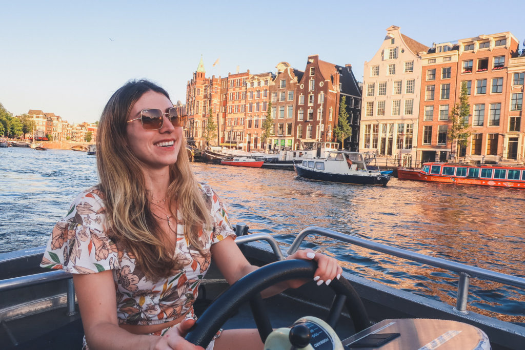 Cruising the Canals is a must do activity with 2 days in Amsterdam Itinerary