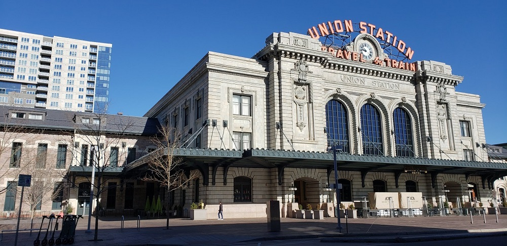 Denver itinerary Union Station
