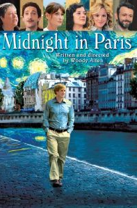 Midnight in Paris movie about time travel