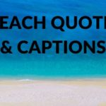 30 Best Beach Quotes and Beach Captions (for Inspiration and Instagram)