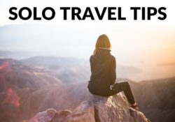 Traveling Alone First Time Tips