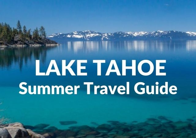 Summer in Lake Tahoe Itinerary