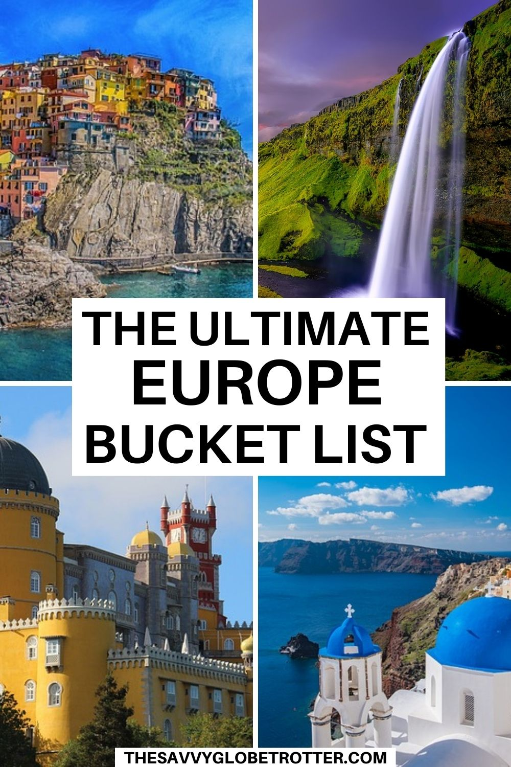 The best things to do in Europe that need to be on your travel bucket list! #europe #bucketlist | Europe travel | trip to Europe | travel through Europe | Europe trip | Europe places to visit | Europe vacation | Europe travel destinations | Europe travel guide | European bucket list challenge