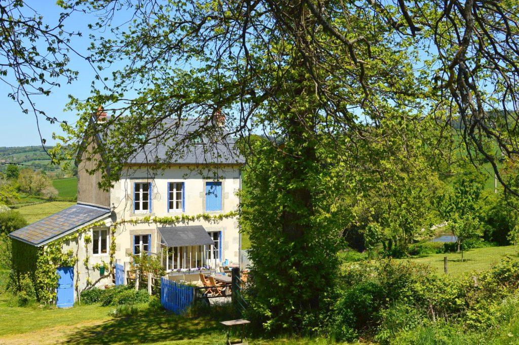 Nature House st maigner Auvergne