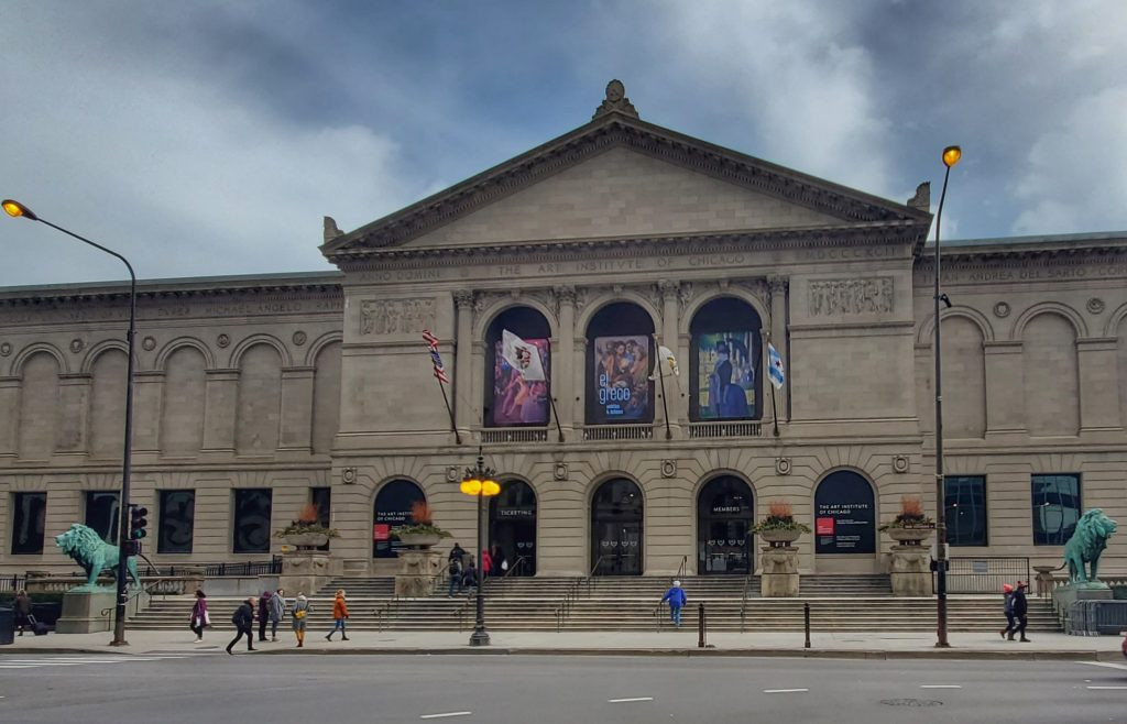 The Art Institute of Chicago is one of the best things to do in Chicago Illinois in the spring
