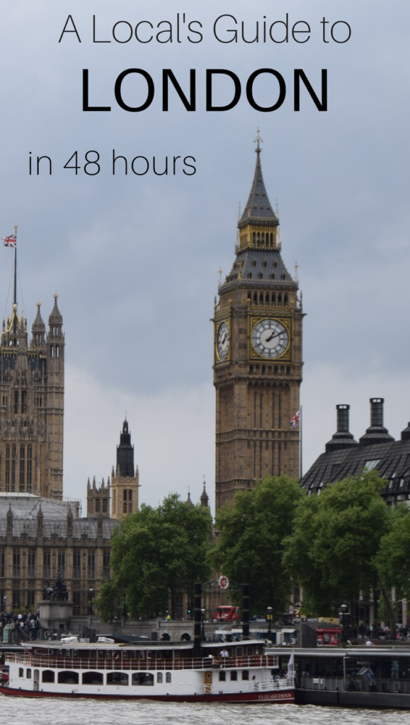 48 Hours in London Itinerary Must See Things